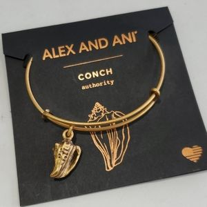 Alex and Ani Conch Shell 🐚 protection bracelet